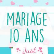 anniversaire mariage 10 ans carte anniversaire mariage virtuelle gratuite à imprimer