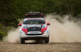 nissan micra rally car a nissan leaf was entered in mongol rally u002717 a 10 000 mile