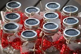 my story in recipes countdown to christmas jars