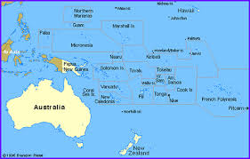 map of the islands pacific island regional maps