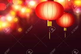 lanterns new year new year hanging lanterns stock photo picture