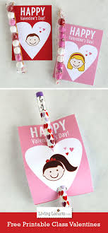 school valentines free printable school s day cards for kids