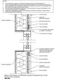 Window Sill Detail Cad Aluminum Window Aluminum Window Jamb Details