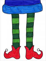 drawing elf feet feet drawing elves and winter art