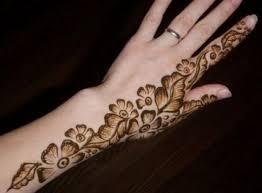 15 floral henna mehndi designs for bling sparkle