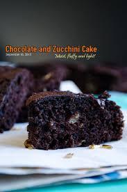 chocolate and zucchini cake give recipe