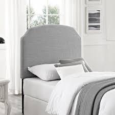 dorel living better homes and gardens york twin headboard dove gray