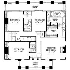 classical style house plan 4 beds 3 5 baths 4000 sq ft plan 72