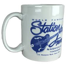 coffee mug welcome to the station inn station inn