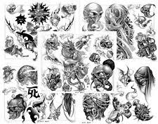 tattoo flash sheets ebay