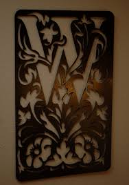 monogram plaques buy made personalized monogram plaques wall by covington