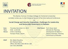 Christian Invitation Card The Centre For Public Policy U0026 Governance Cppg Forman Christian