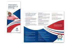 bank brochure template word u0026 publisher