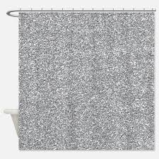 silver christmas shower curtains silver christmas fabric shower