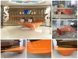 High End Reception Desks High End Reception Desk Fancy Front Counters Table Reception