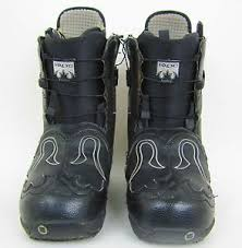 used womens boots size 9 burton iroc s snowboard boots size 9 color black