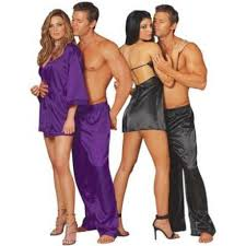 silk nightwear his hers search his