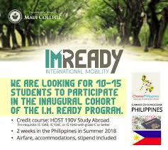 applications sought for all expense paid study abroad program to