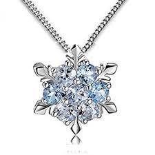 ladies necklace images Findout ladies swarovski element sterling silver blue crystal jpg