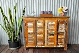 the wooden duck furniture made from reclaimed wood