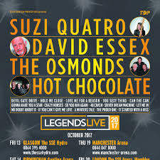 legends live tour 2017 motorpoint arena cardiff sun 22nd