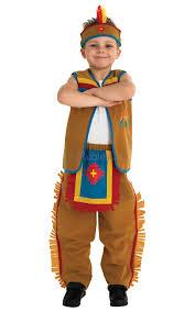 native american indian kids fancy dress wild west book week boys