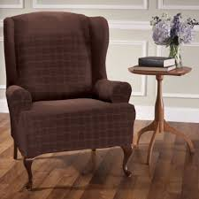 Winged Chairs For Sale Design Ideas Buy Stretch Wing Chair Slipcover From Bed Bath U0026 Beyond