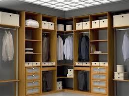 various models of a corner unit closet organizer corner closet