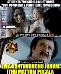 Bring It On Movie Meme - oru nalla naal paathu solren memes home facebook