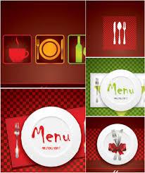 restaurant menu card vector design pinterest menu cards