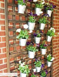 Ikea Outdoor Planters by 15 Ways To Use Ikea U0027s Socker Cheap Metal Buckets Front Porches