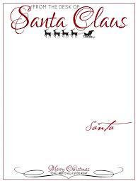 printable santa letterhead the chicken elf on the shelf