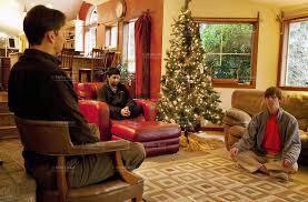 Christmas Livingroom by Internet Addiction Dependency Retreat Restart Yoga