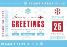christmas cards themed aviation themed christmas cards by brookhollow cards