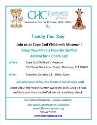 community health day cape cod museum trail