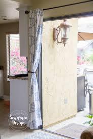 No Curtains Diy No Sew Blackout Curtain Liners U2013 Seagrain Design