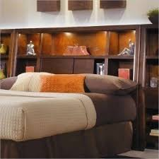 King Headboard With Storage King Size Bookcase Headboard Foter