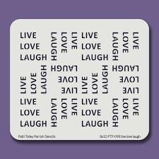 8x10 ptp 098 live love laugh