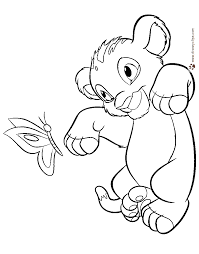 the lion king coloring pages disney coloring book