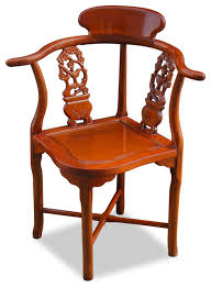 Wooden Accent Chair Bird Design Corner Chair Asian Armchairs And Accent Chairs