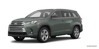 colors for toyota highlander 2017 toyota highlander limited platinum pictures kelley