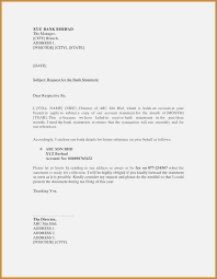 Request Letter Of Bank Statement bank statement request letter format sle premierme co