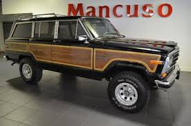 old jeep grand wagoneer used jeep grand wagoneer for sale in old lyme ct carsforsale com