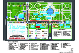 taste of chicago map everything you need to about taste of chicago 2015 wgn tv