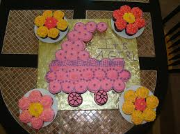 Buttercream Frosting For Decorating Cupcakes Baby Carriage Cupcakes With Flower Cupcakes For Decorations Out Of