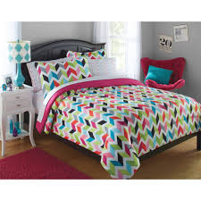 cool walmart bedroom sets for youth enhancing bedrooms ideas your zone bright chevron bed in a bag bedding set walmart in walmart kids bedroom sets