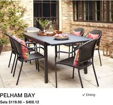 patio dining table set shop patio furniture dining collections at lowe s