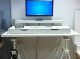 20 Diy Desks That Really Work For Your Home Office by Desk Cheap Standing Desk Awesome Ikea Standing Desk 20 Diy Desks