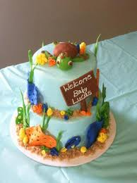 nemo baby shower finding nemo themed baby shower cakecentral