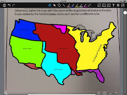 1783 Map Of The United States by United States Growth 1783 1853 Thinglink